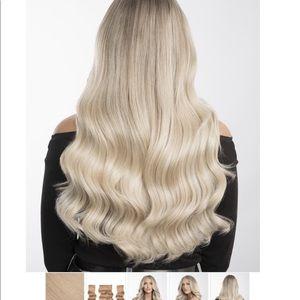 Bellami Bell-air halo hair extensions beige blonde